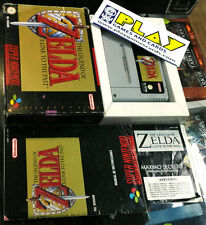 THE LEGEND OF ZELDA A LINK A LINK TO THE PAST SUPER NINTENDO SNES PAL ESP ERBE