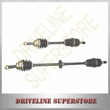 a set of two CV JOINT DRIVE SHAFTS FOR MITSUBISHI MIRAGE CE 1997-2002 ALL