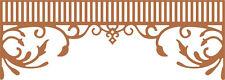 Cheery Lynn Designs Die ~ sur encanto cenefa Remolinos ~ B454 ~ ~ Nuevo