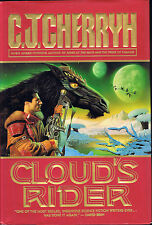 Cloud's Rider by C. J. Cherryh (1996, Hardcover, 1st Printing, Warner Books)