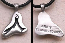 Aries Pendant Astrology Jewelry Aries Charm Aries Horoscope Sign Aries Necklace