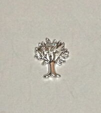 SILVER TREE OF LIFE Floating Charm -for glass floating lockets
