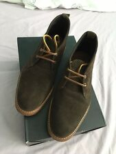 H by Hudson Purified Redfield Brown Suede Leather Ankle Desert Boots UK7
