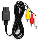 AV RCA Audio Video Cable TV Lead for SNES SUPER NINTENDO N64 GAMECUBE Consoles