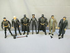 Batman Movie Masters Lot Dark Knight Rise ALFRED BRUCE WAYNE JIM GORDON CATWOMAN