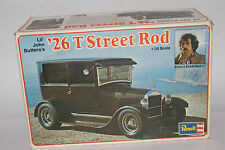 Revell Models Lil' John Buttera's 26 Model T Ford Street Rod, 1:25 SCALE, BOXED