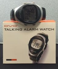 OVO Digital Unisex Talking Alarm Watch (Black) New Still In Original Manufacture