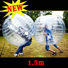 1.5M Inflatable Bumper Bubble Balls Body Zorb Ball Soccer Football For Adult