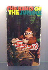 * Nintendo Promo concentre video VHS-The King of the Jungle Donkey Kong Country *