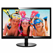"MONITOR LED PHILIPS 24"" SCHERMO LCD FULL HD 1920X1080 16:9 VGA DVI-D 246V5LSB/00"