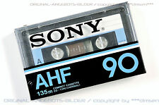 SONY AHF 90 Type-I Audio Cassette MC Tape Neu/Ovp!! RaR!! NOS MC59