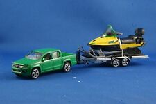 Siku 2548 - VW Amarok Car with trailer and snowmobile Scale 1:55 New item 2014