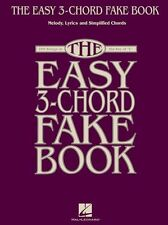 Easy 3-Chord Fake Book Learn to Play Pop Songs Beginner Piano C Music Book