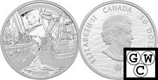 2013 5oz Proof $50 HMS Shannon and USS Chesapeake 9999 Fine Silver Coin (13211)