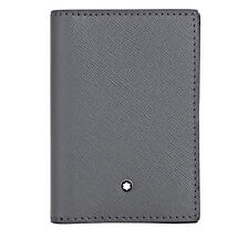 Montblanc Sartorial Leather Business Card Holder - Flannel