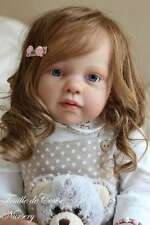 "New Reborn Toddler Doll Kit Louisa By Jannie De Lange@25.5""@Body Included"
