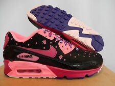 NIKE AIR MAX 90 LE DB DOERNBECHER BLACK-FIREBERRY-PINK SZ 7 [578101-066]