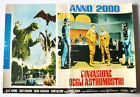 "ULTRA RARE VINTAGE 1965 INVASION OF ASTRO MONSTER MOVIE POSTER 14"" X 11"" ITALY 3"