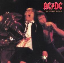 AC/DC - IF You Want BLood You've Got it CD ( 1978 Hard Rock Classic ) Very Good