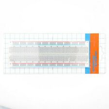 MB-102 Solderless Breadboard Protoboard 830 Tie Points 2 buses Test Circuit Mini
