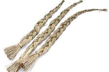 "One (1) Single Sweet Grass Braid 22"" Incense for Spiritual Cleaning."