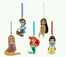 Disney Princess Animators Collection Sketchbook Ornament Set of 5 Ariel Belle