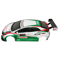 3Racing Civic MK9 Clear Body 4WD 1:10 RC Cars Touring On Road #LBD-CIVICMK9/HK