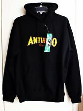 Anti Hero Skateboards Hoodie Pullover Black Small Size
