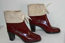 bottines Boots Imperméables Bordeaux T 41 TBE