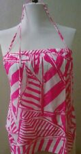 Lilly Pulitzer Lei Lei Top Capri Pink Yacht Sea  Sz Xs New With Tags
