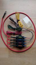 12 volts - 24 v pre wired, 4 circit boîte à fusibles camper, bateau, camion, poids lourds, van, vw T5