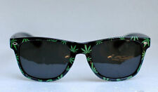 Weed Pot Leaf Sunglasses Blues Glasses Marijuana Reefer Plastic Party Wayfarer