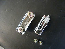 "NEW Bass/Kick Drum Lugs. 'Diamond' Vintage Style Complete w/Screws. 2"" Spacing."