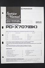 PIONEER PD-X707 (BK) Circuit Description Repair & Adjustments Service-Manual o78