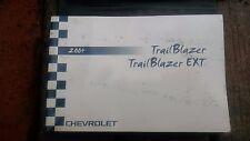 2004 Chevy Chevrolet Trailblazer Owner's Manual Handbook Instruction Blazer