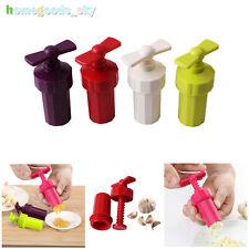 Hot Garlic Press Crusher Home Kitchen Slicer Squeezer grinding Tools Plastic