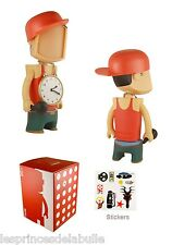 "Beit Dude Rapper Red / Green Figure Diy à Custom 18cm / 7"" Munny Qee kidrobot"