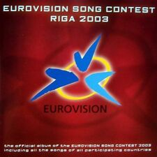 Eurovision Song Contest: Riga 2003 CD by Various Artists (Original)