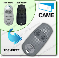 U9A7 CAME TOP432EE 2 Button Key Fob Remote Control TOP 432NA Electric Gate 432EV