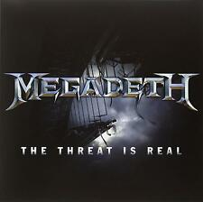 Megadeth The Threat Is Real Limited 12 Inch Vinyl Single