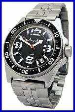 AMPHIBIA 200m VOSTOK AUTOMATIC MECHANICAL WATCH !NUOVO! 19c It