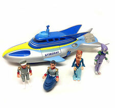 Gerry Anderson's STINGRAY w/SAM SHORE, TROY & TITAN etc toy figure 1990's series