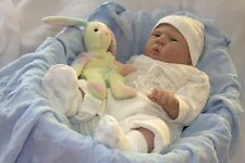 "22"" Reborn Complete Doll Kits Making Newborn Baby Soft Vinyl  Head and 3/4 Limbs"