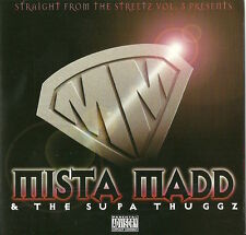 MISTA MADD & THE SUPA THUGGZ STRAIGHT FROM THE STREETZ 3 1999 FAT PAT BIG MELLO