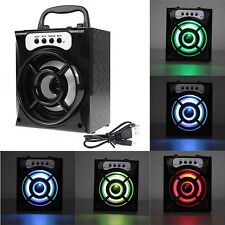 Outdoor Bluetooth Wireless Portable Speaker Super Bass USB/TF/AUX/FM Radio