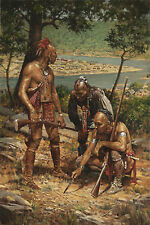 Planning the Attack on Fort Pitt (Open Edition)Image Size:8 x 12 Unsigned