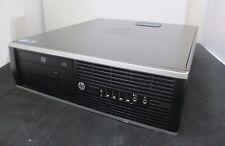 HP Elite 8300 SFF PC Core i7 3770 @ 3.40GHz  8GB 500GB DVD-ROM WIN 7 FREE P&P
