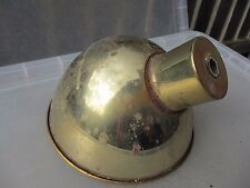 Vintage Brass Light Shade Retro Old  Industrial Factory Art Deco Style