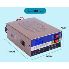 Auto 12V/24V 100AH Electric Car Dry&Wet Battery Power Charger Smart Pulse Repair