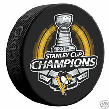 PITTSBURGH PENGUINS 2016 STANLEY CUP CHAMPIONS HOCKEY PUCK CROSBY MALKIN MURRAY
